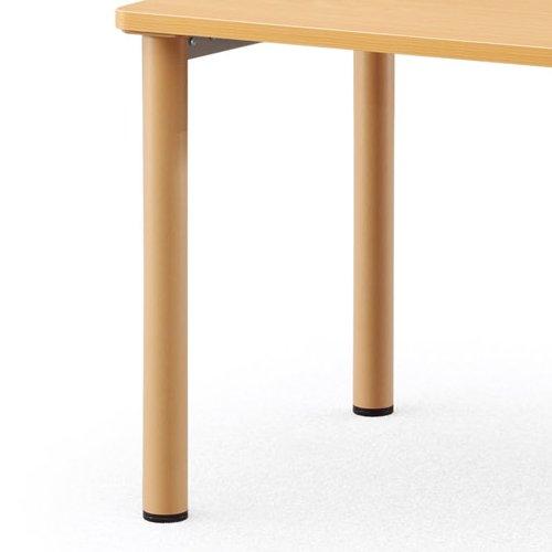 介護テーブル アイコ NSTテーブル 正方形天板 NST-7575 W750×D750×H700(mm)商品画像5