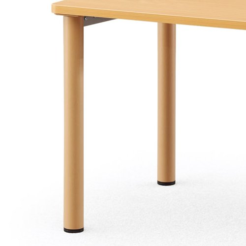【廃番】介護テーブル NSTテーブル 正方形天板 NST-9090 W900×D900×H700(mm)商品画像5