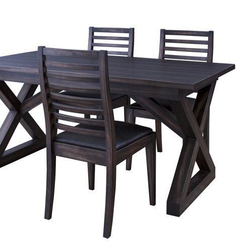 ダイニングテーブル ローランドシリーズ 天然木(マホガニー) クロスレッグ W1500×D800×H720(mm) AZ-NW-882T商品画像3