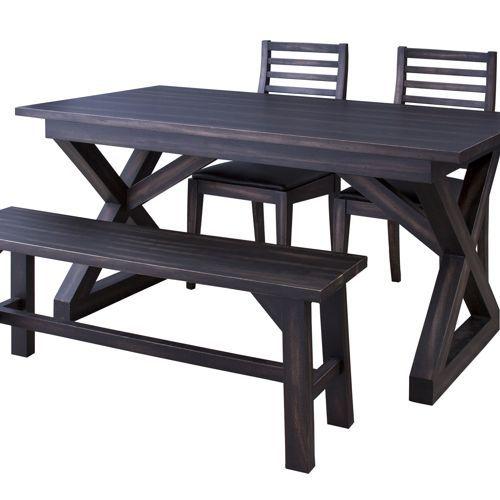 ダイニングテーブル ローランドシリーズ 天然木(マホガニー) クロスレッグ W1500×D800×H720(mm) AZ-NW-882T商品画像4