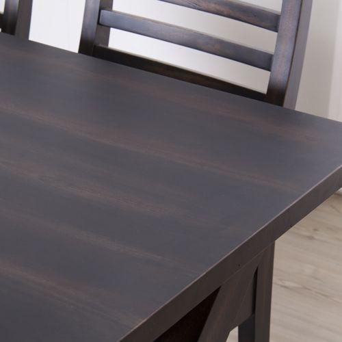 ダイニングテーブル ローランドシリーズ 天然木(マホガニー) クロスレッグ W1500×D800×H720(mm) AZ-NW-882T商品画像7