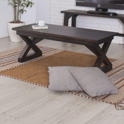 センターテーブル ローランドシリーズ AZUMAYA(東谷) NW-884 コーヒーテーブル 天然木(マホガニー) W1100×D500×H400(mm)商品画像4