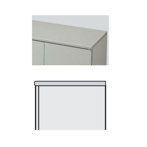 キャビネット・収納庫 天板 NW型 NW-900STP W899×D455×H27(mm)商品画像3