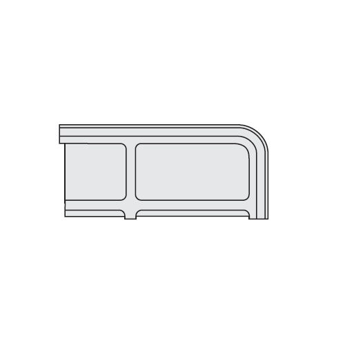 キャビネット・収納庫 CW型・NW型ファイル引き出し書庫用標準仕切板 2枚セット NW-FSのメイン画像