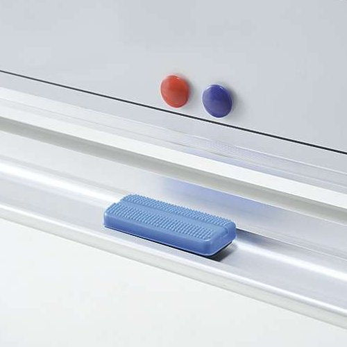 ホワイトボード スチールタイプ 壁掛け 無地 NWB-36 板面サイズ:幅1800mm×高さ900mm商品画像2