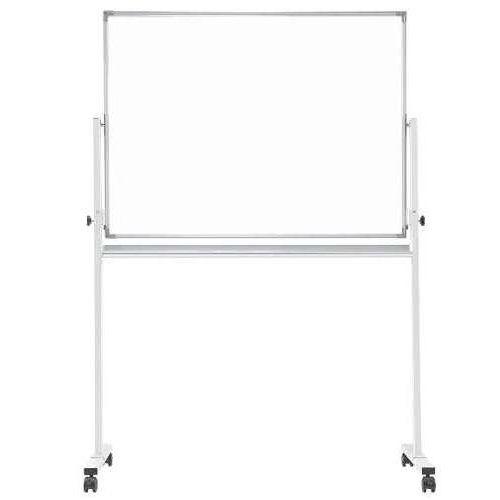 ホワイトボード スチールタイプ 脚付き 無地 片面 NWBK-34 板面サイズ:幅1200mm×高さ900mmのメイン画像