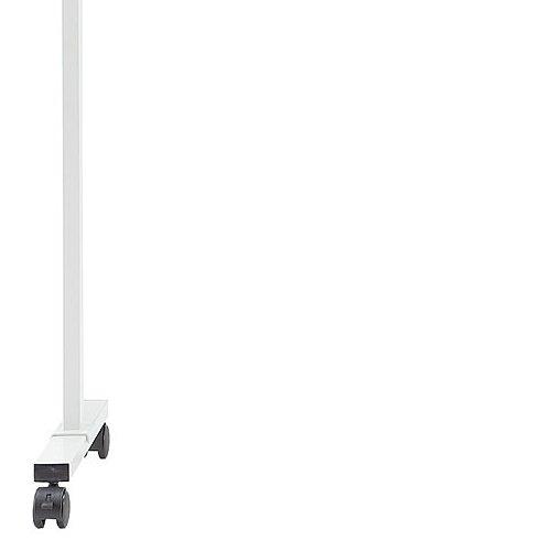 ホワイトボード スチールタイプ 脚付き 無地 両面 NWBR-34 板面サイズ:幅1200mm×高さ900mm商品画像3