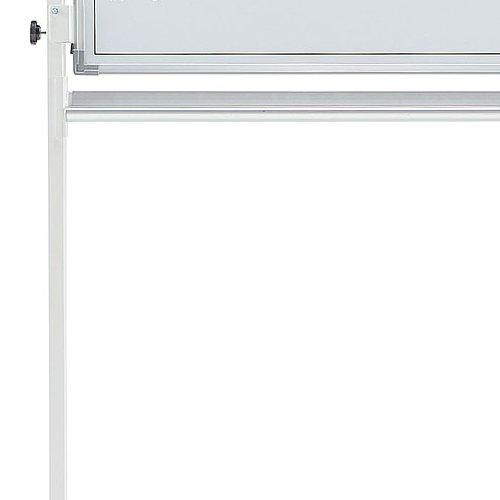 ホワイトボード スチールタイプ 脚付き 無地 両面 NWBR-34 板面サイズ:幅1200mm×高さ900mm商品画像4