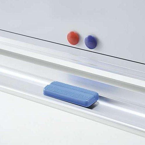 ホワイトボード スチールタイプ 脚付き 無地 両面 NWBR-36 板面サイズ:幅1800mm×高さ900mm商品画像2
