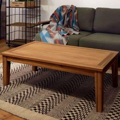 センターテーブル アルンダ NX-711 天然木(アカシア) W1100×D550×H380(mm)商品画像5