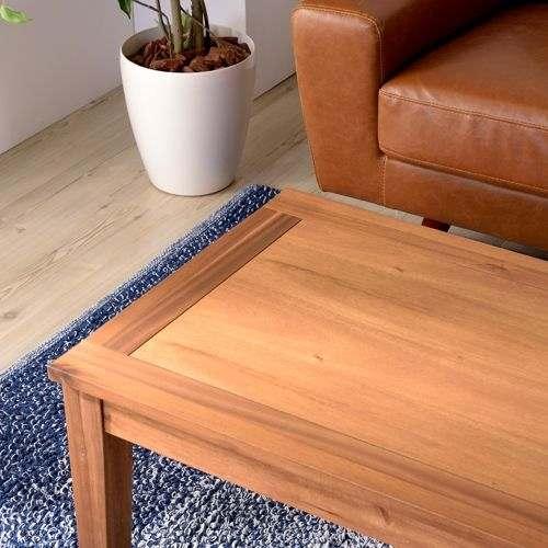 センターテーブル アルンダ NX-711 天然木(アカシア) W1100×D550×H380(mm)商品画像7