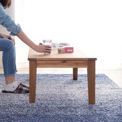 センターテーブル アルンダ NX-711 天然木(アカシア) W1100×D550×H380(mm)商品画像8
