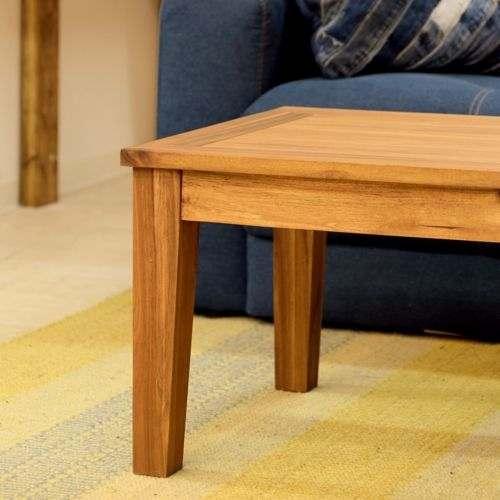 センターテーブル アルンダ NX-711 天然木(アカシア) W1100×D550×H380(mm)商品画像9