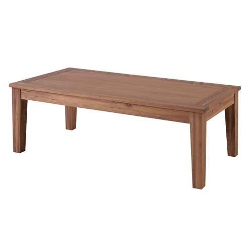 センターテーブル アルンダ NX-711 天然木(アカシア) W1100×D550×H380(mm)のメイン画像