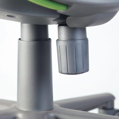 チェア アイコ OA-1055EJ セミローバック サークル肘付き商品画像8