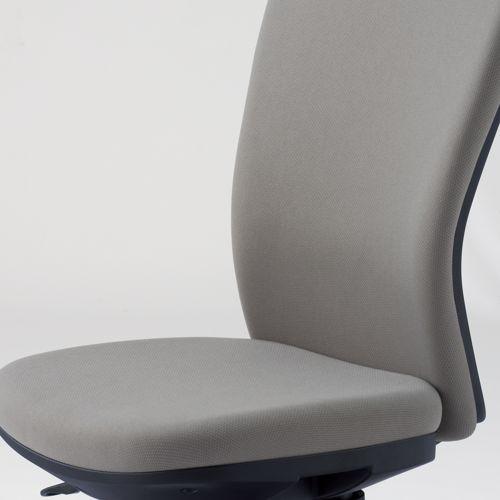 チェア アイコ OA-1205B ミドルバック ブラックフレーム 肘なしタイプ商品画像9