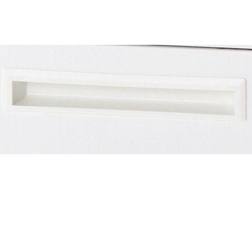 デスク 井上金庫(イノウエ) ワゴン 2段 ホワイト ODW-2 W397×D550×H616(mm)商品画像4