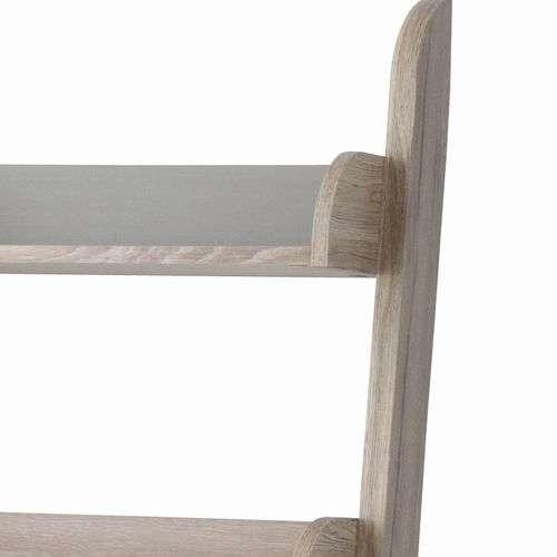 シェルフ チェスターシリーズ AZUMAYA(東谷) OL-334 収納棚 階段状 壁立て掛 W650×D350×H1490(mm)商品画像5