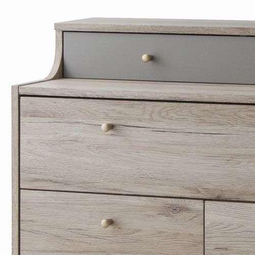 チェスト チェスターシリーズ 3段棚+可動棚板 W800×D400×H955(mm) AZ-OL-336商品画像3