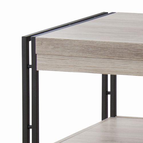 センターテーブル チェスターシリーズ AZUMAYA(東谷) OL-570 コーヒーテーブル スチール脚 W1000×D500×H455(mm)商品画像3