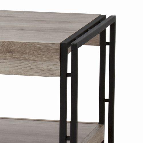 センターテーブル チェスターシリーズ AZUMAYA(東谷) OL-570 コーヒーテーブル スチール脚 W1000×D500×H455(mm)商品画像5
