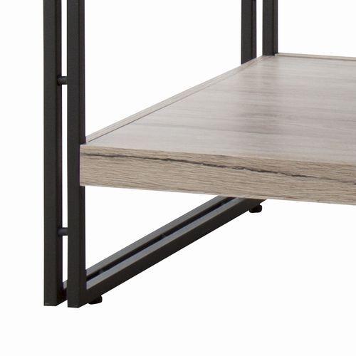 センターテーブル チェスターシリーズ AZUMAYA(東谷) OL-570 コーヒーテーブル スチール脚 W1000×D500×H455(mm)商品画像6