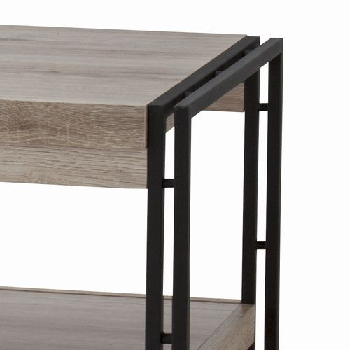 センターテーブル チェスターシリーズ コーヒーテーブル スチール脚 W1200×D500×H455(mm) AZ-OL-571商品画像5