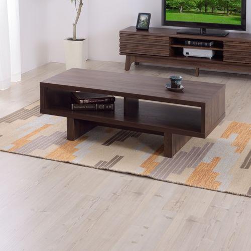 センターテーブル KD Furnitureシリーズ AZUMAYA(東谷) OL-851 ボックス型テーブル W1100×D500×H365(mm)商品画像3