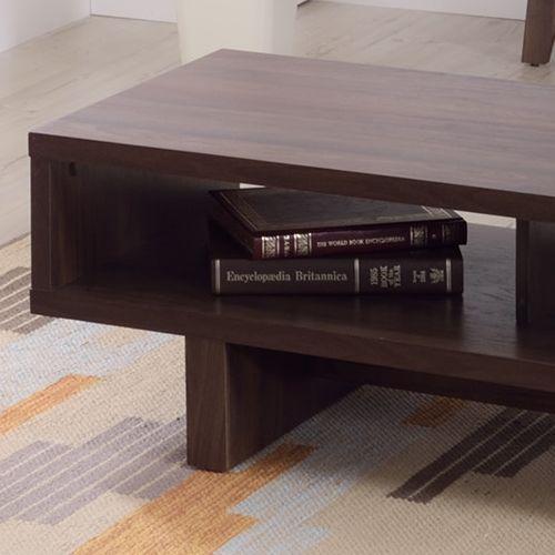 センターテーブル KD Furnitureシリーズ AZUMAYA(東谷) OL-851 ボックス型テーブル W1100×D500×H365(mm)商品画像4