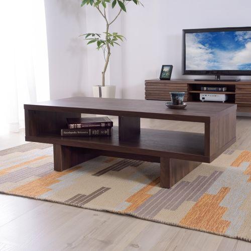 センターテーブル KD Furnitureシリーズ AZUMAYA(東谷) OL-851 ボックス型テーブル W1100×D500×H365(mm)商品画像7