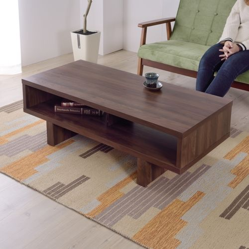 センターテーブル KD Furnitureシリーズ AZUMAYA(東谷) OL-851 ボックス型テーブル W1100×D500×H365(mm)商品画像8