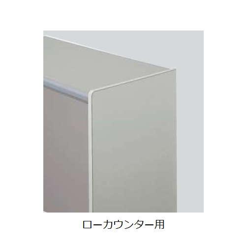 カウンター ローカウンター用エンドパネル SNC型 ONCKP-L-WH W720×D25×H702(mm)のメイン画像