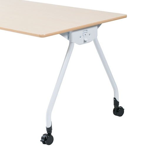 テーブル(会議用) Y字型キャスター脚 PAG-1275 W1200×D750×H700(mm)商品画像3