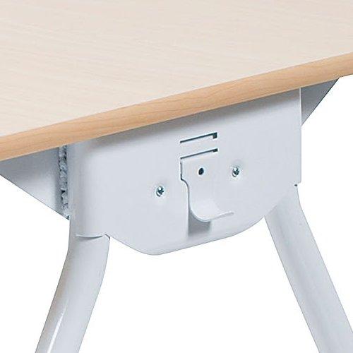 テーブル(会議用) 井上金庫(イノウエ) Y字型キャスター脚 PAG-1275 W1200×D750×H700(mm)商品画像5