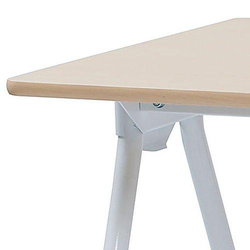 テーブル(会議用) 井上金庫(イノウエ) Y字型キャスター脚 PAG-1275 W1200×D750×H700(mm)商品画像6
