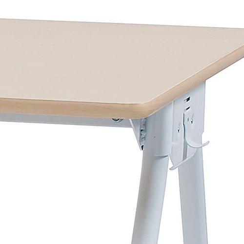 テーブル(会議用) 井上金庫(イノウエ) Y字型キャスター脚 PAG-1275 W1200×D750×H700(mm)商品画像7