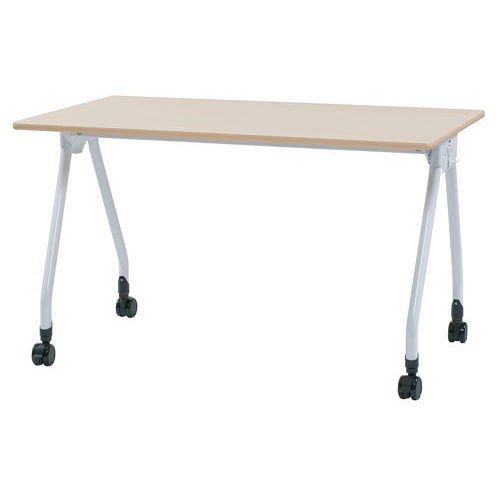 テーブル(会議用) Y字型キャスター脚 PAG-1275 W1200×D750×H700(mm)のメイン画像