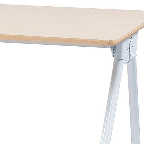 テーブル(会議用) 井上金庫(イノウエ) Y字型キャスター脚 PAG-1875 W1800×D750×H700(mm)商品画像7