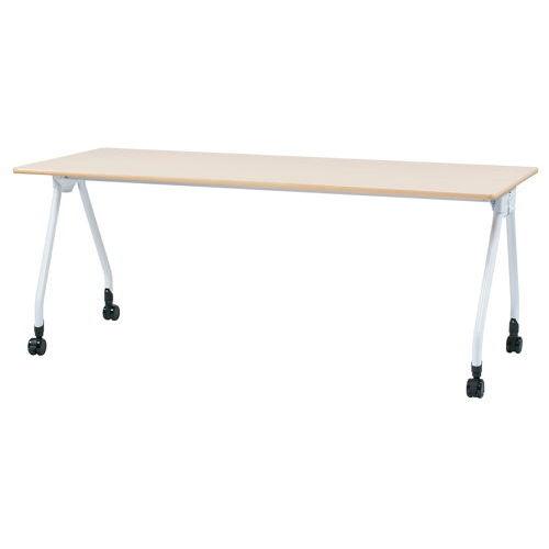 テーブル(会議用) Y字型キャスター脚 PAG-1875 W1800×D750×H700(mm)のメイン画像