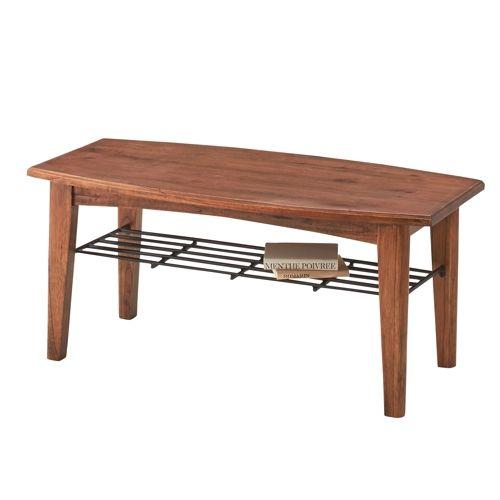 センターテーブル ティンバーシリーズ Sサイズ 天然木(ミンディ) W900×D450×H400(mm) AZ-PM-301商品画像3