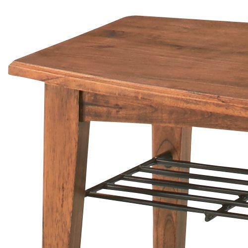 センターテーブル ティンバーシリーズ Sサイズ 天然木(ミンディ) W900×D450×H400(mm) AZ-PM-301商品画像4