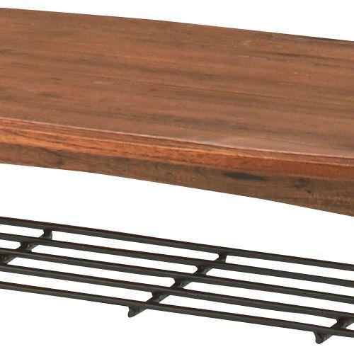 センターテーブル ティンバーシリーズ Sサイズ 天然木(ミンディ) W900×D450×H400(mm) AZ-PM-301商品画像5
