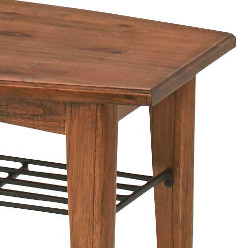 センターテーブル ティンバーシリーズ Sサイズ 天然木(ミンディ) W900×D450×H400(mm) AZ-PM-301商品画像6
