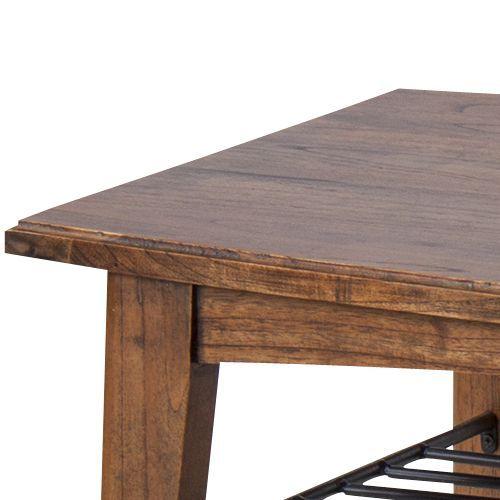 センターテーブル ティンバーシリーズ Lサイズ 天然木(ミンディ) W1100×D550×H400(mm)商品画像3