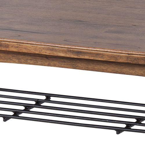 センターテーブル ティンバーシリーズ Lサイズ 天然木(ミンディ) W1100×D550×H400(mm)商品画像4
