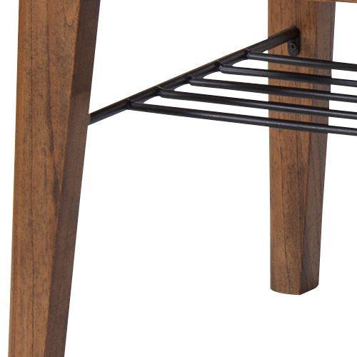 センターテーブル ティンバーシリーズ Lサイズ 天然木(ミンディ) W1100×D550×H400(mm)商品画像7