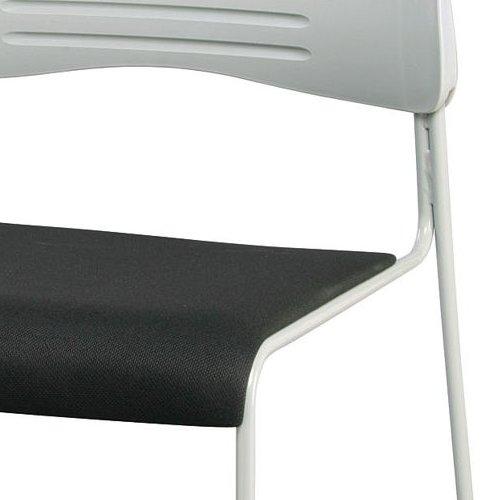 会議椅子 スタッキングチェア PMC-430 ループ脚 布張り 肘なし商品画像6