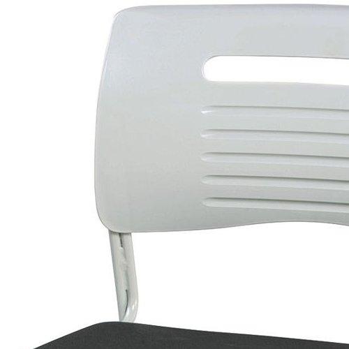 会議椅子 スタッキングチェア PMC-430 ループ脚 布張り 肘なし商品画像7