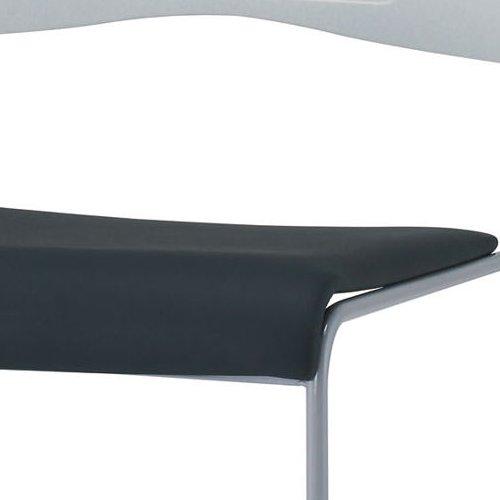 会議椅子 スタッキングチェア PMC-P430 ループ脚 ビニールレザー張り 肘なし商品画像5