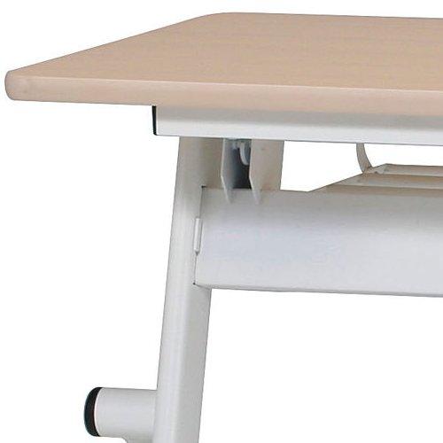 テーブル(会議用) 平行スタックテーブル PND-1245 W1200×D450×H720(mm)商品画像6